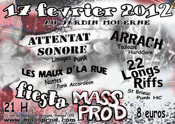 Fiesta Mass Prod, RENNES, 17/02/12