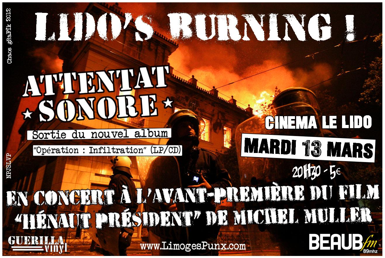 """Avant-première """"Hénaut Président"""", Lido, Limoges, 13/03/12"""