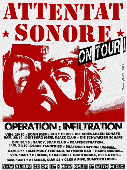 "Tournée ""Operation : Infiltration"" 2011-2012"